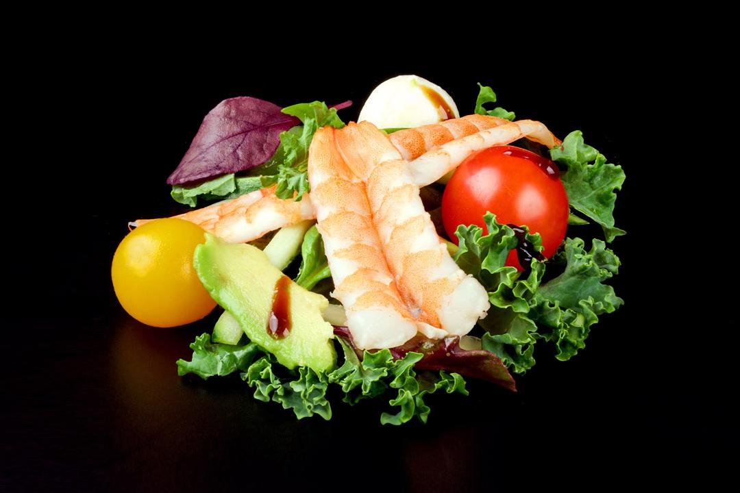 суши, доставка еды, зелень, помидорки, фуд-фотограф