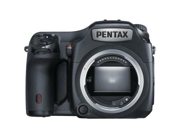 камеры среднего формата pentaz-645z